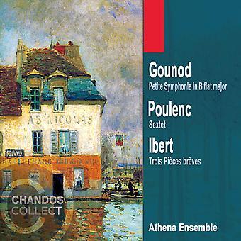 Poulenc/Gounod/Ibert - música francesa para la importación de los E.e.u.u. Wind Ensemble [CD]