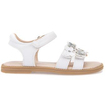 Geox Girls Karly J8235I Sandals White