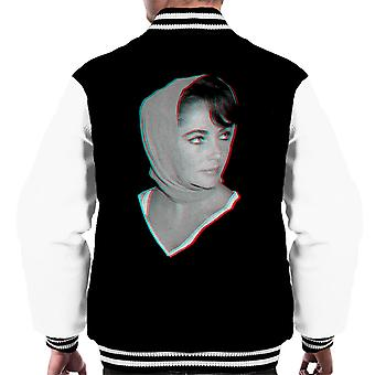 Elizabeth Taylor 1959 3D Effect Men's Varsity Jacket