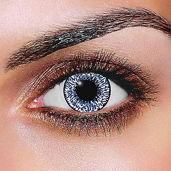 Mystic Sapphire Blue Contact Lenses (Pair)
