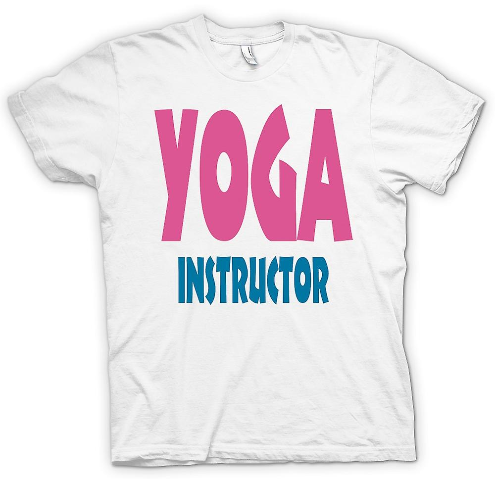 Hommes T-shirt - instructeur de yoga Martial Art - Slogan