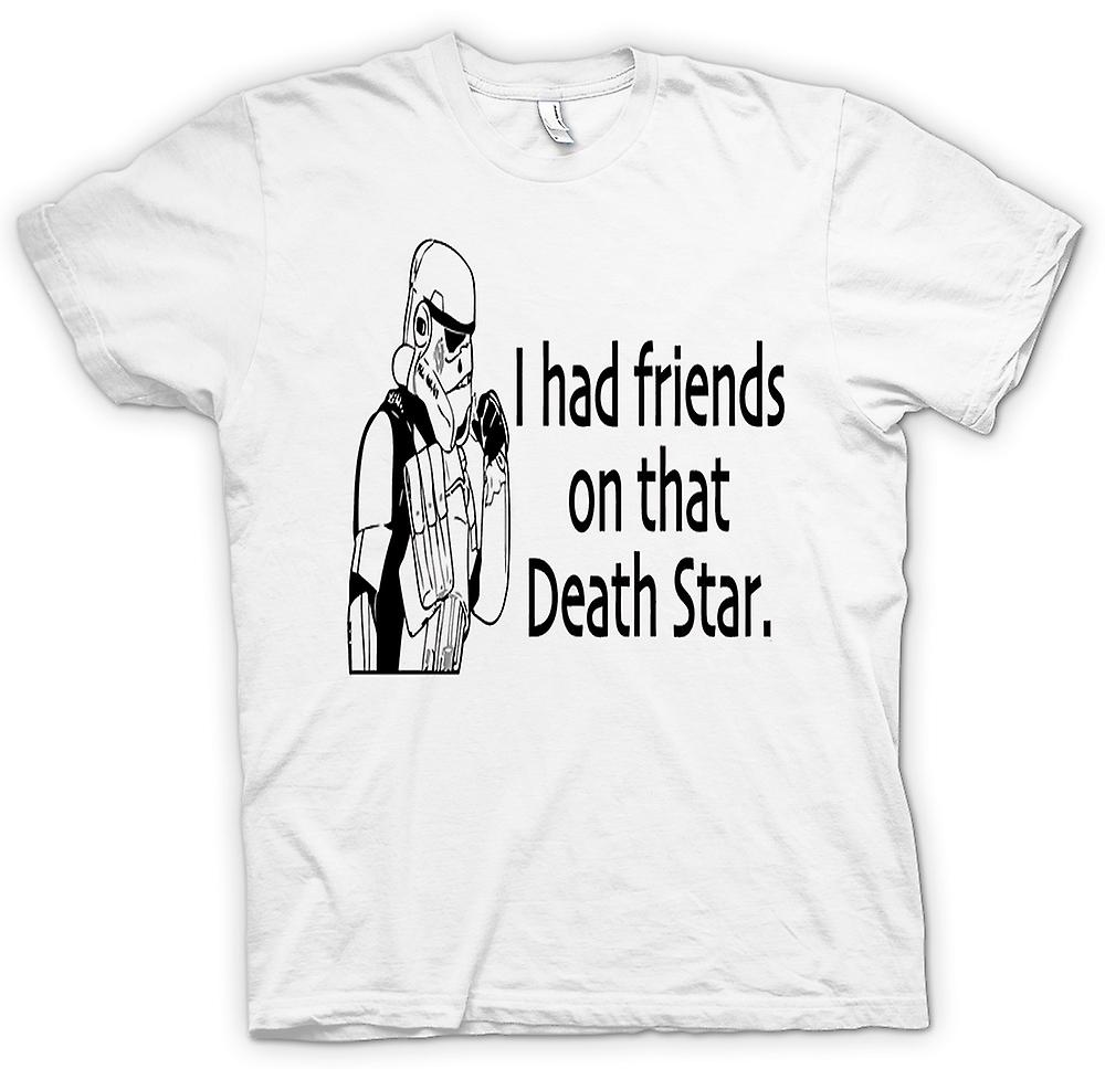 Womens T-shirt - I Had Friends On That Deathstar - Quote