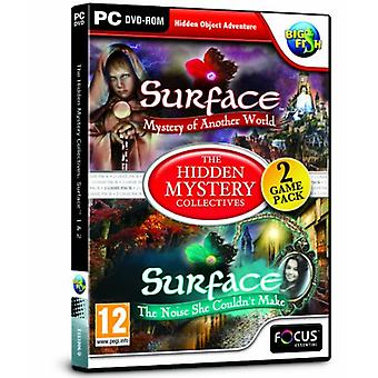 Oppervlakte 1 en 2 de verborgen mysterie collectieven (PC DVD)