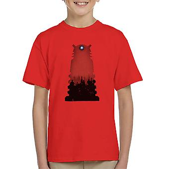 Doctor Who Shadowfield Dalek Kid's T-Shirt