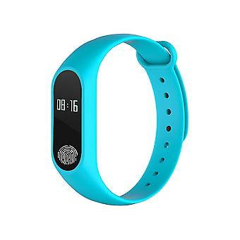 M2 Fitness bracelet with heart rate monitor-Turquoise