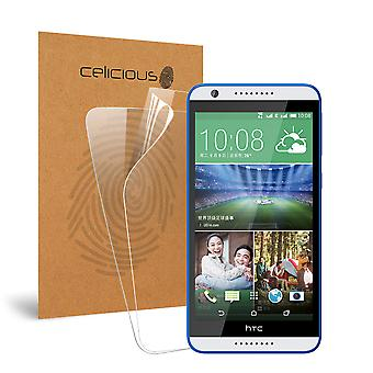 Celicious Vivid Invisible Screen Protector for HTC Desire 820 [Pack of 2]