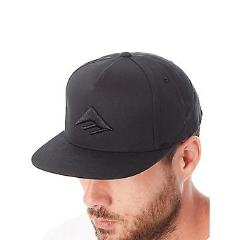 Emerica Black Triangle Snapback Cap