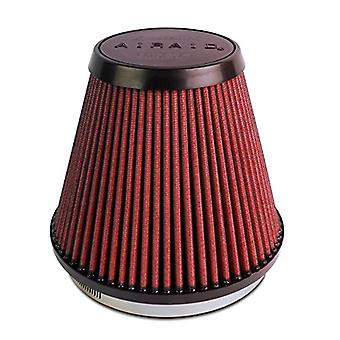 Airaid 701-466 Universal Clamp-On Air Filter: Round conico; 6 pollici (152 mm) flangia ID; 6 pollici (152 mm) altezza; 7,25 in (184