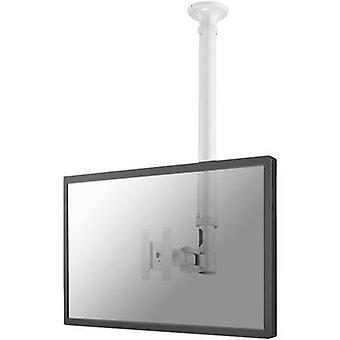 NewStar FPMA-C100WHITE 1x Monitor ceiling mount 25,4 cm (10) - 76,2 cm (30) Swivelling/tiltable, Swivelling