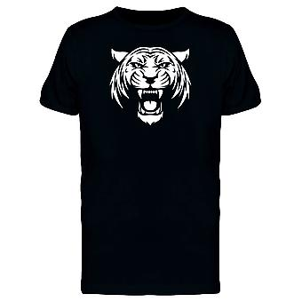 White Tiger Silhouette Tee Men's -Image by Shutterstock