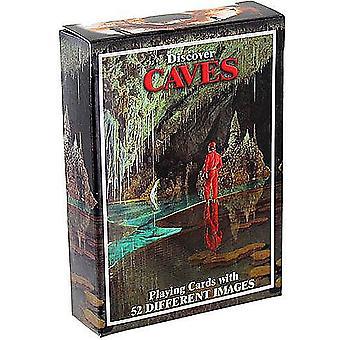 Откройте для себя пещеры набор из 52 игральных карт + шутники