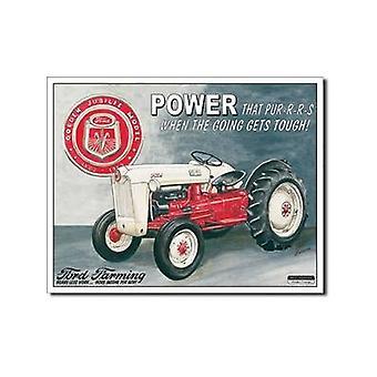 Ford Power Jubilee trekker Metal Sign landbouw