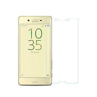 Sony Xperia X tank protection protection glass armoured glass film real 9 H glass tempered glass