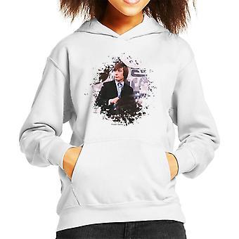 TV Times Charlie Watts Live Rolling Stones Kid's Hooded Sweatshirt
