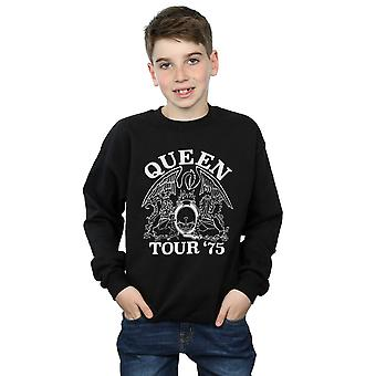 Queen Boys Tour 75 Crest Sweatshirt