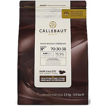 Callebaut dunkle Schokolade Extra Bitter 70 % Callets