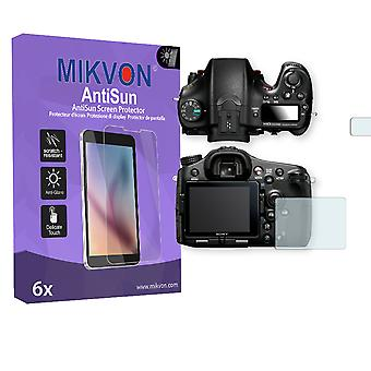 Sony SLT-A77 II Alpha Screen Protector - Mikvon AntiSun (Retail Package with accessories)