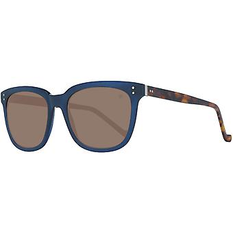 Hackett London men's sunglasses in the Trapeze-style Brown