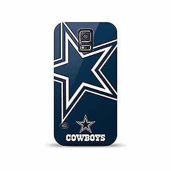 Mizco Sports NFL Oversized TPU Case for Samsung Galaxy S5 (Dallas Cowboys)