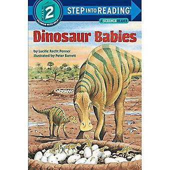 Dinosaurier-Babys (Einzelschritt - Stufe 2 - Taschenbuch zu lesen)