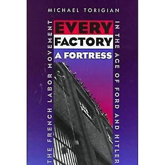 Cada fábrica uma fortaleza: O francês movimento de trabalho na era da Ford e Hitler