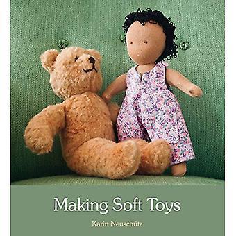 Fabrication de jouets douces