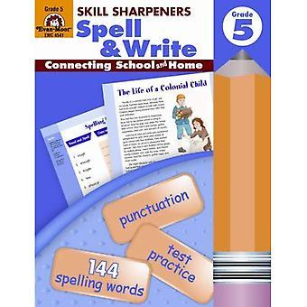 Skill Sharpeners Spell &; Write, Grade 5