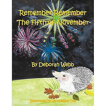 N'oubliez pas n'oubliez pas le cinquième de novembre