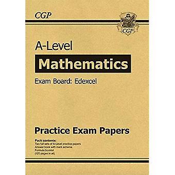 Nya A-nivå matematik Edexcel praktiken papper