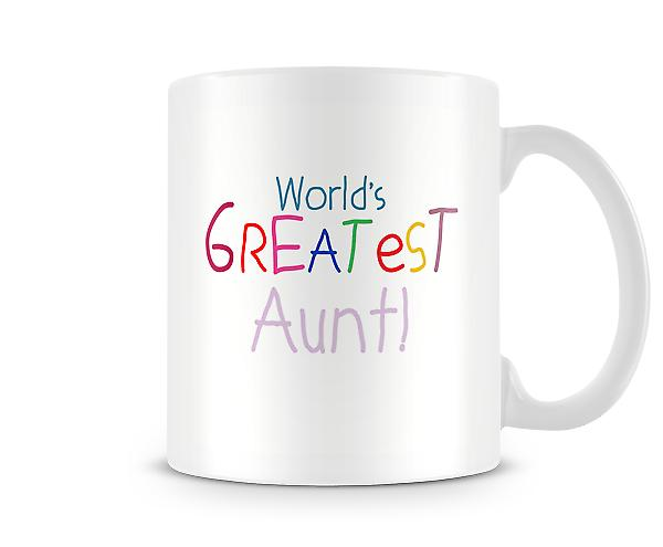 Worlds Greatest Aunt Mug