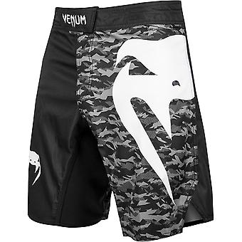 Venum Light 3.0 MMA Fight Shorts - Black/Urban Camo
