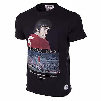 George Best Regno t-shirt (nero)