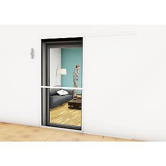 Sliding door fly screen door Kit insect protection 120 x 240 cm in anthracite