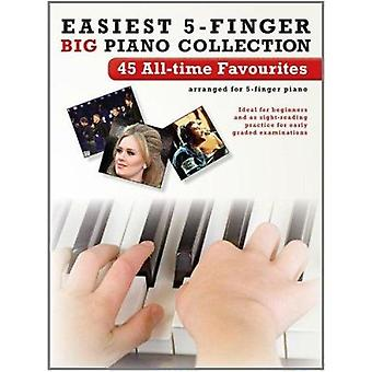 Easiest 5-Finger Piano Collection - 45 All-Time Favourites - 978178305