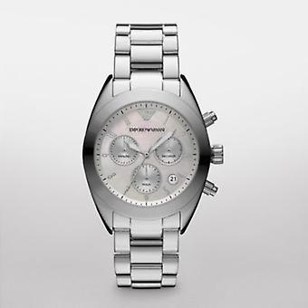 Emporio Armani Ar5960-orologio da donna in argento sportivo Chrono