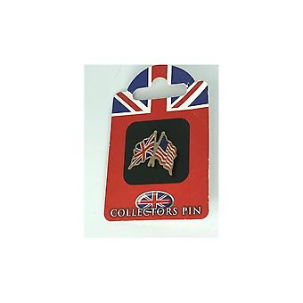 Union Jack Wear Union Jack/USA Friendship Badge