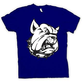 Mens T-shirt - Bulldog Guard Dog - Funny