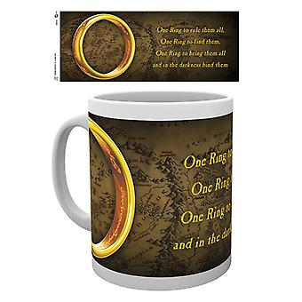 Lord of the Rings One Ring Boxed Drinking Mug