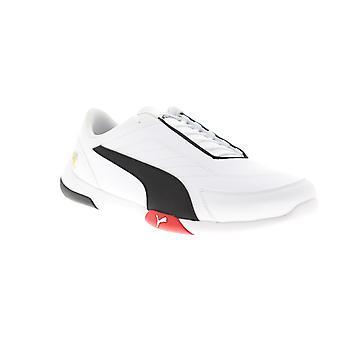 Puma Scuderia Ferrari Kart Cat III Мужчины Белый Низкий Топ Спортивные гонки обувь