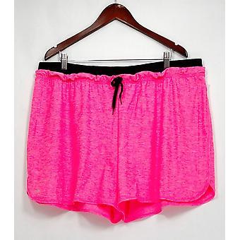 Ideology Plus Shorts Heathered Performanc Molten Pink