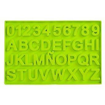 Ibili Chocolate Mold Letters And Numbers (Kitchen , Bakery , Molds)