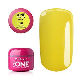 Base one-Pearl-Yellow sunmarine 5 g UV gel