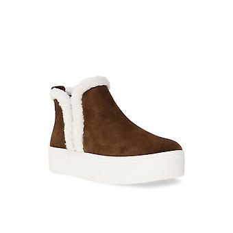 Steve Madden Donne Fern Pelle Chiusa Toe Ankle Fashion Stivali