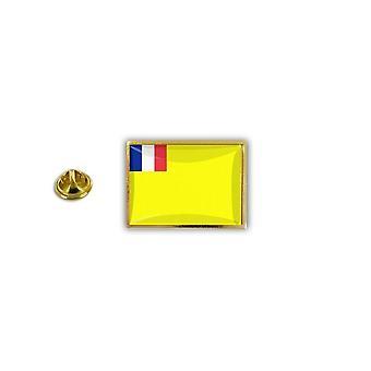 Pins Pin Badge Pin's Metal Epoxy Avec Pince Papillon Drapeau Indochine