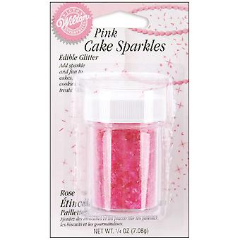 Cake Sparkles .25 Ounce Pink W703r 1260