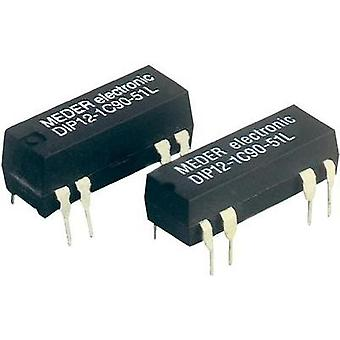 Reed relay 1 change-over 12 Vdc 0.5 A 10 W DIP 8 StandexMeder Electronics