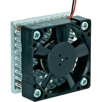 Axial fan 12 Vdc (L x W x H) 40 x 40 x 20 mm SEPA