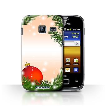 STUFF4 Case/Cover for Samsung Galaxy Y Duos/S6102/Bauble/Tree/Christmas Decorations