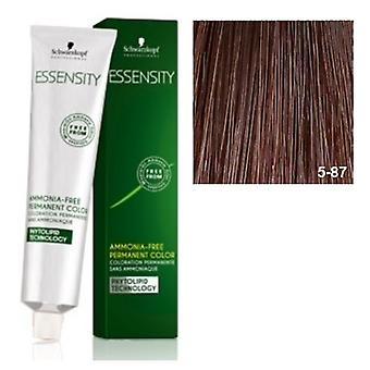 Schwarzkopf Professional 5-87 Essensity Light Brown Red Cobrizo