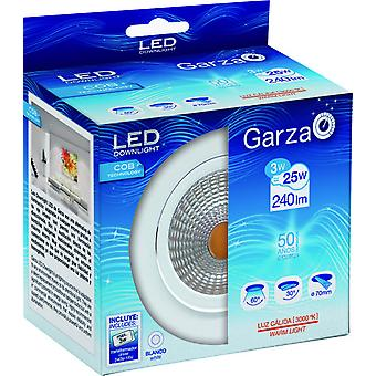 Garza Recessed Cob Led 240Lm 3W 60 30K (Home , Lighting , Light bulbs and pipes)